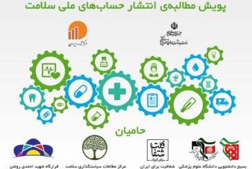 پویش انتشار حساب های ملی سلامت