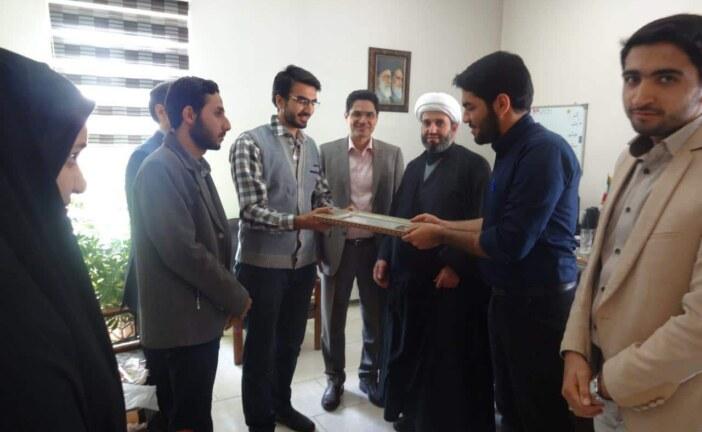 گزارش مراسم تودیع و معارفه مسئولان بسیج دانشجویی دانشکده توانبخشی دانشگاه علوم پزشکی شهید بهشتی