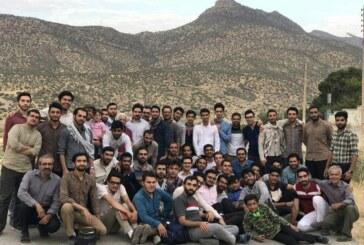 اتمام شانزدهمین اردوی کانون جهادی منتظران مصلح و خدمات رسانی به  ۵ هزار نفر از اهالی  منطقه سرفیروزآباد کرمانشاه