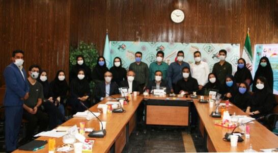 جلسه هماهنگی کادر علمی و اجرایی سیزدهمین همایش دانشجویی تازه های علوم بهداشتی کشور